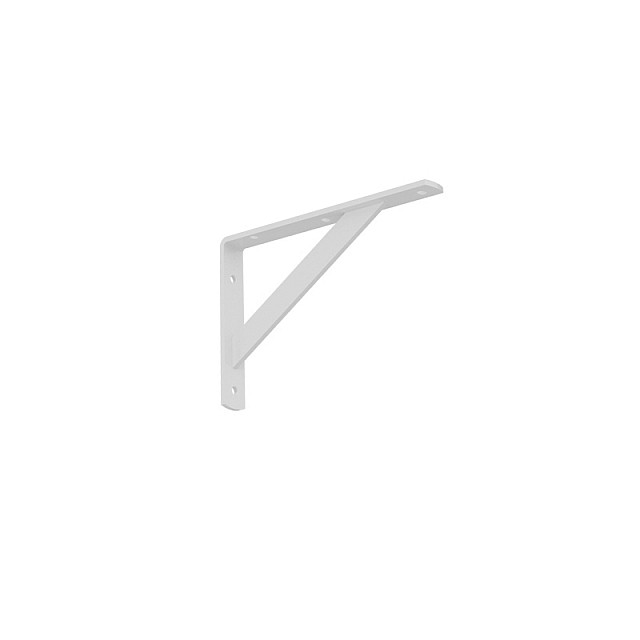 HEAVY DUTY SHELF BRACKET 200x125mm/320kg  WHITE